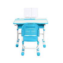 Эргономический комплект Cubby парта и стул-трансформеры Botero Blue, фото 3