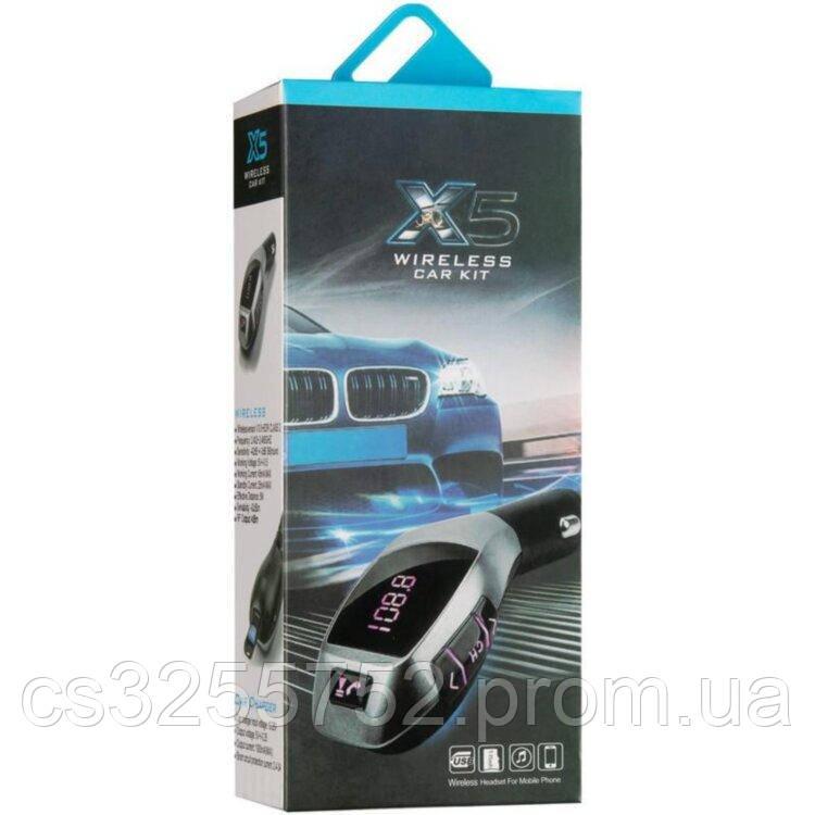 FM-модулятор для автомобиля FM X5 Bluetooth