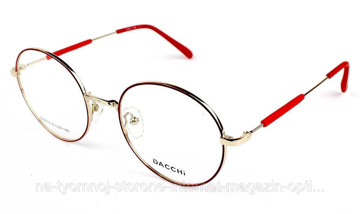 Оправа для очков металлическая Dacchi D33019-C7