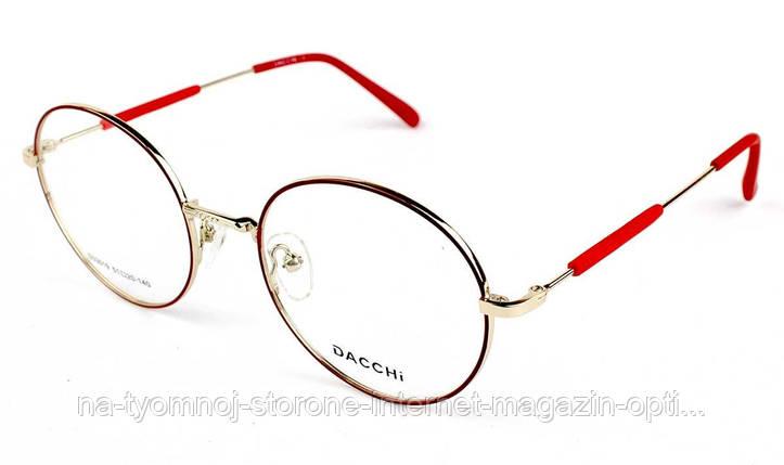 Оправа для очков металлическая Dacchi D33019-C7, фото 2