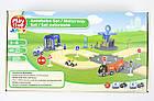 Дорожній набір для дерев'яної залізниці 3,15 м 40 елементів Playtive Junior, фото 8
