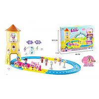 LOL-08 Игровой набор LOL Железная дорога, в комплекте 2 фигурки, 2 вагона, свет, звук, в коробке