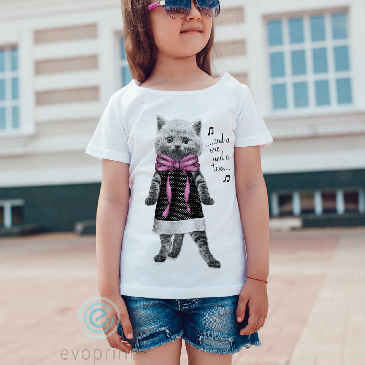 Качественная печать на детских футболках