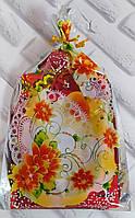Подарочный кухонный набор льняной (U513)