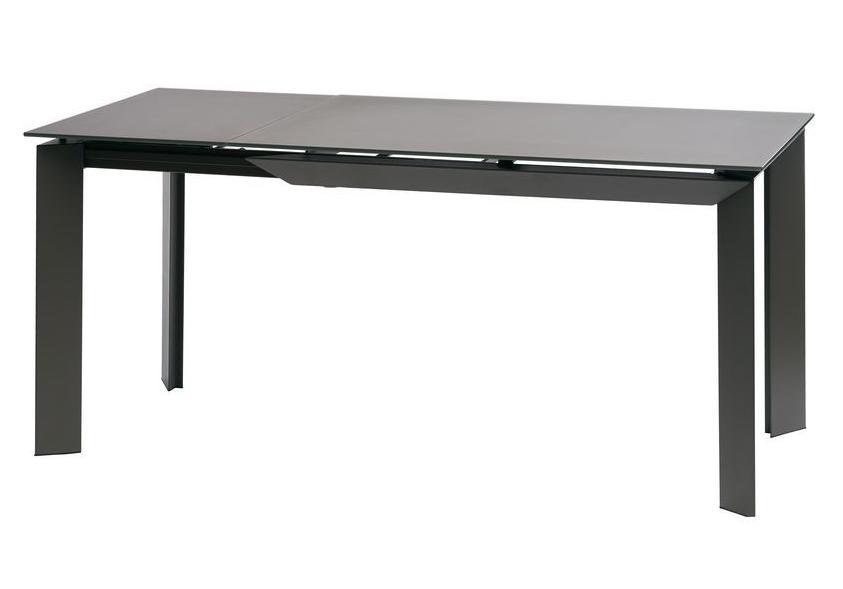 Стол раскладной VERMONT Matt GREY 120/170 см стекло ТМ Concepto