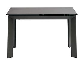 Стол раскладной VERMONT Matt GREY 120/170 см стекло ТМ Concepto, фото 3
