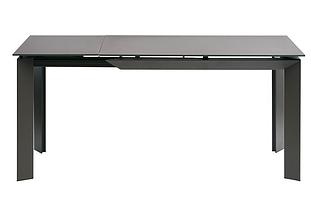 Стол раскладной VERMONT Matt GREY 120/170 см стекло ТМ Concepto, фото 2