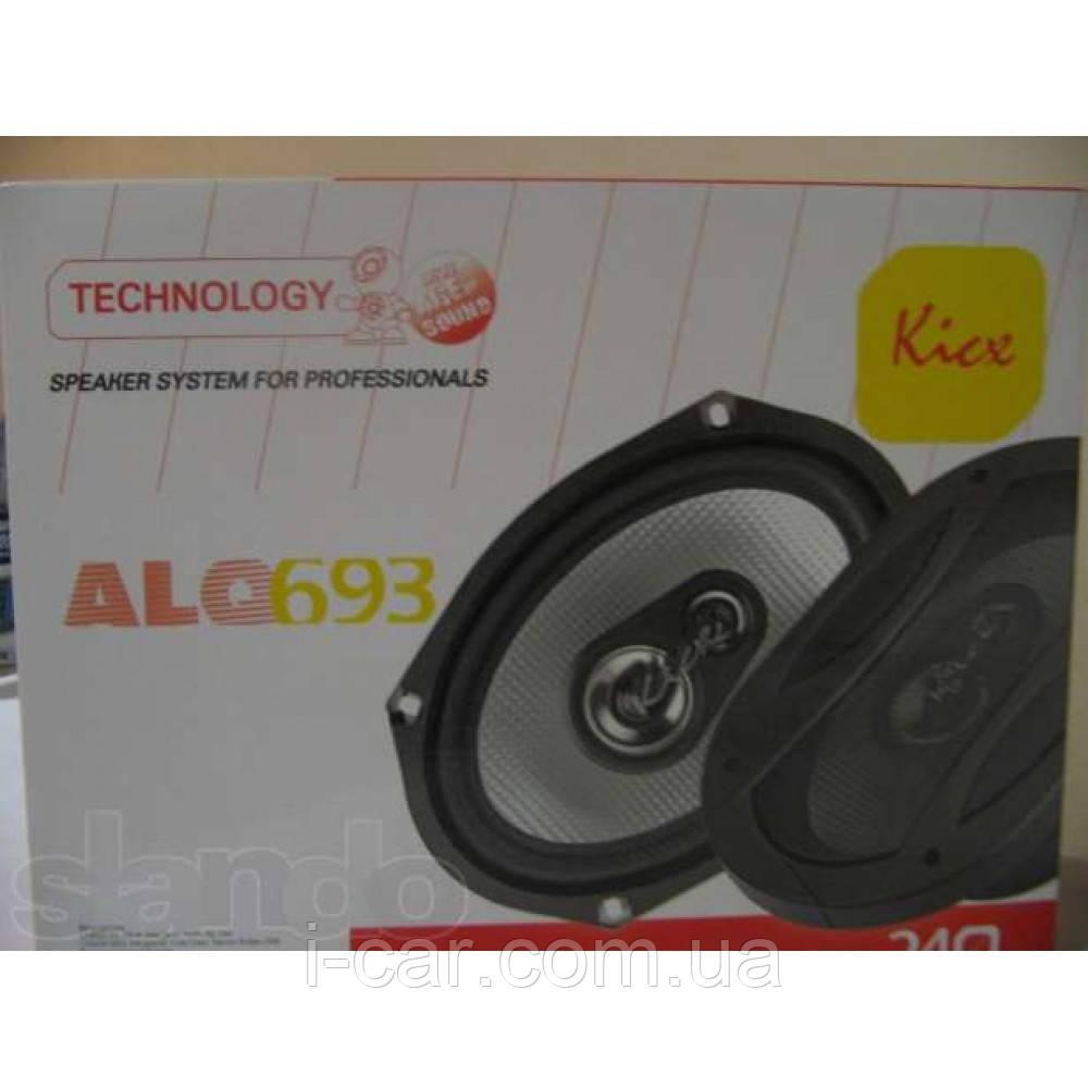 Колонки Kicx ALQ-693 овалы