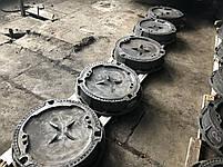 Люк чугунный дорожный, тротуарный, канализационный, ливневки, фото 2