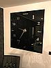 """Настенные часы 3D Большие """"Seven"""" - часы наклейка с зеркальным эффектом, необычные настенные часы стикеры, фото 7"""