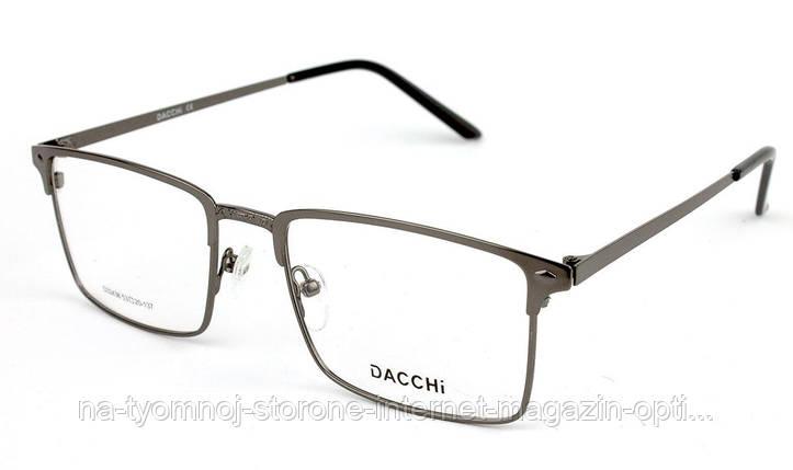 Оправа для очков металлическая Dacchi D32436-C3 , фото 2