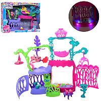 Игровой набор Замок Домик Литл Пони свет, звук, фигурки пони, аксессуары,LL05