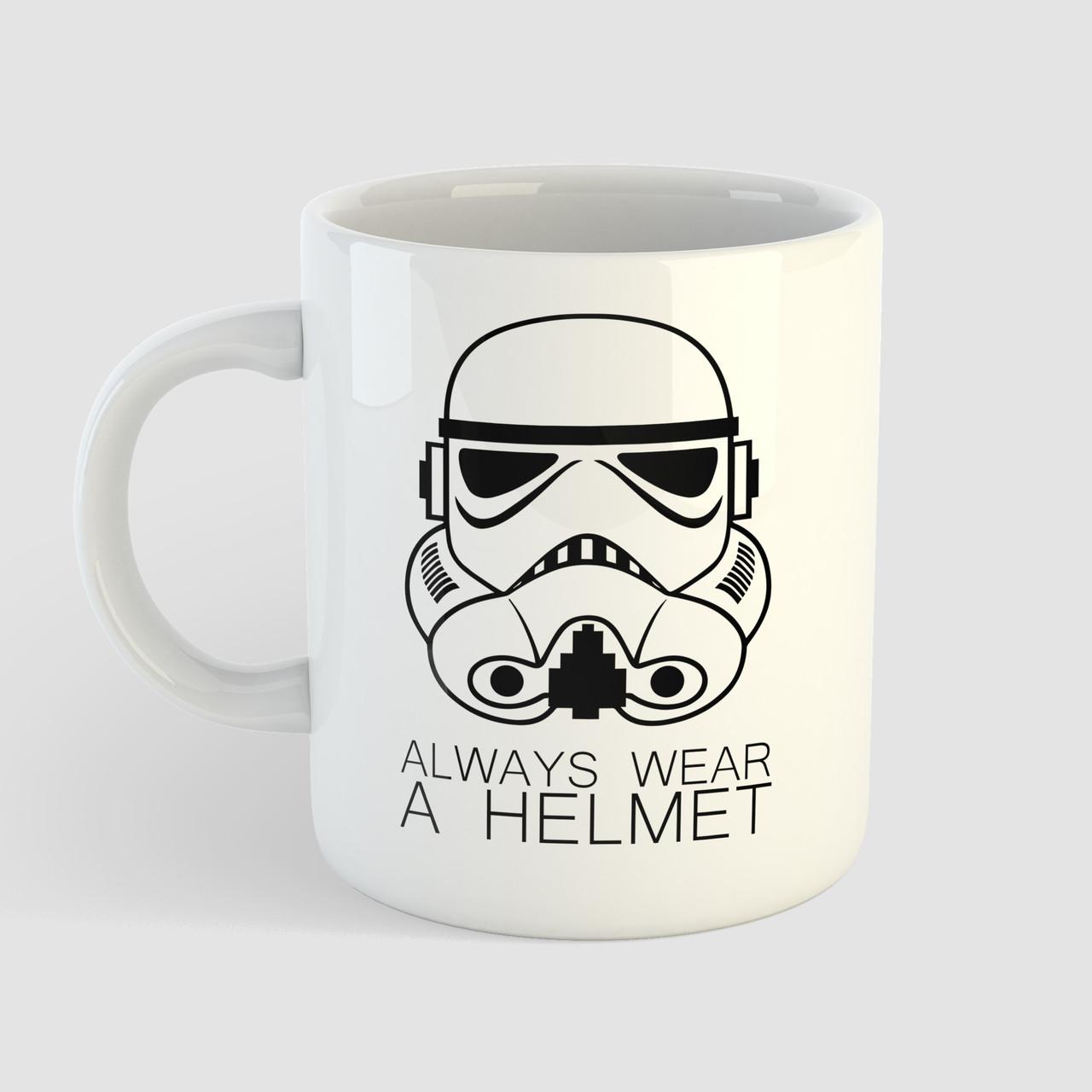 Кружка с принтом Star Wars. Штурмовик. Чашка с фото