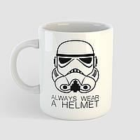 Кружка с принтом Star Wars. Штурмовик. Чашка с фото, фото 1