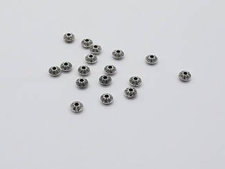 Металеві декори. Колір античне срібло. 6,7 мм