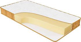 Ортопедический беспружинный матрас Релакс плюс (монолитный блок, микро соты) 160х200