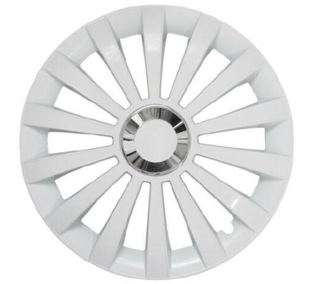 Колпаки R13 Jestic Meredian Ring White