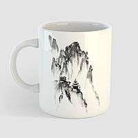 Кружка с принтом Горы. Mountains. Чашка с фото, фото 1