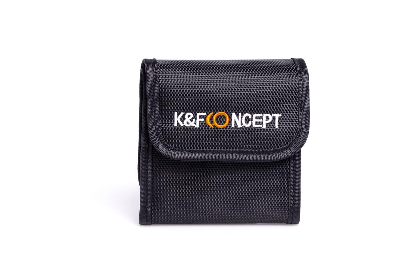 Чехол K&F Concept для светофильтра на 3 шт