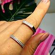 Стильное серебряное кольцо, фото 3