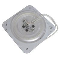 Светодиодная пластина 18W 28LED 220V с магнитом ST 696