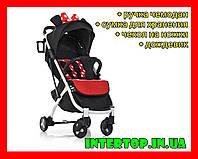 Коляска детская Bambi M 3910 11 YOGA II красный горох. Дитячий візок Йога 2 в горошок