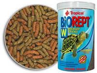 Корм для водоплавающих черепах Tropical Biorept W, 500 мл