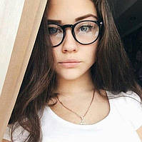 Имиджевые очки овал от J&D ОРИГИНАЛ - ZARA MANGO BENETON H&M CHANEL NEW LOOK LEVIS PULL&BEAR
