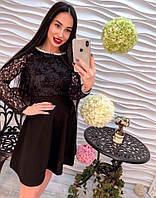 Платье женское черное нарядное  Класса  Люкс