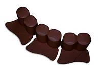 Палісадник декоративний Prosperplast PALISADA 3,02 м, коричневий (5905197140124)