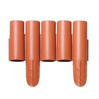 Палисадник декоративный Prosperplast PALISADA, 2,4м, терракотовый (5905197240138)