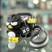 Чехол Cute Charm AirPods 2 Angry Bird Black