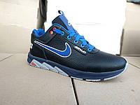 Подростковые кожаные кроссовки для мальчика 35-39 р-р, фото 1