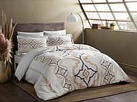 Семейное постельное белье TAC Ginza Gold Сатин-Delux