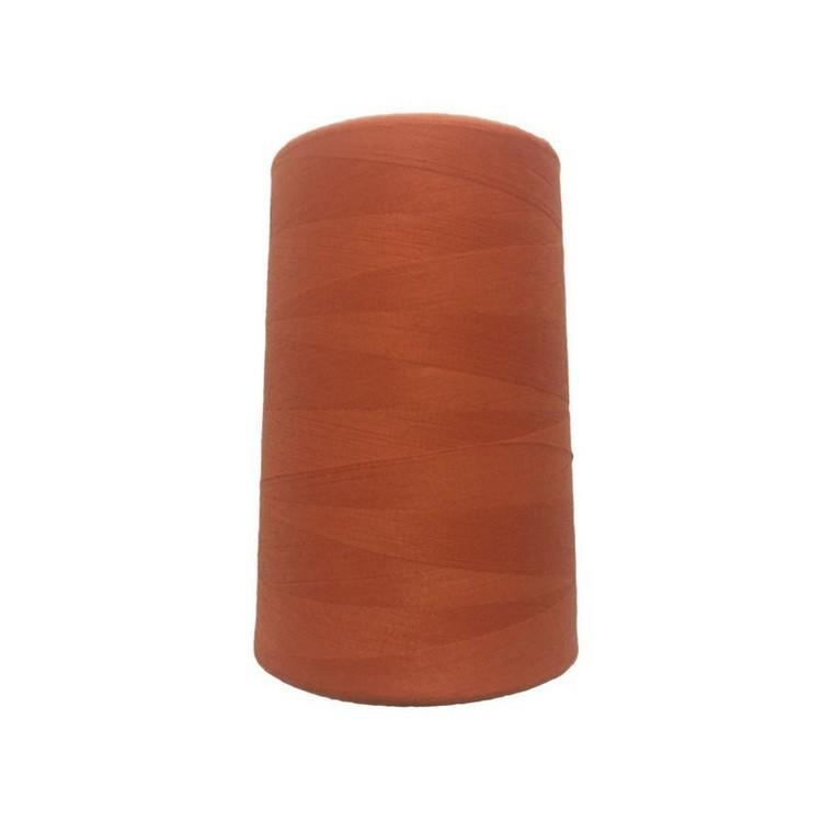 Нитки швейные 50/2 цв.S-523 оранжевый  (боб 5000 ярдов) NITEX