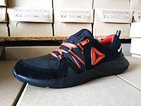 Кроссовки черные мужские кожаные Reebok 40 -45 р-р, фото 1