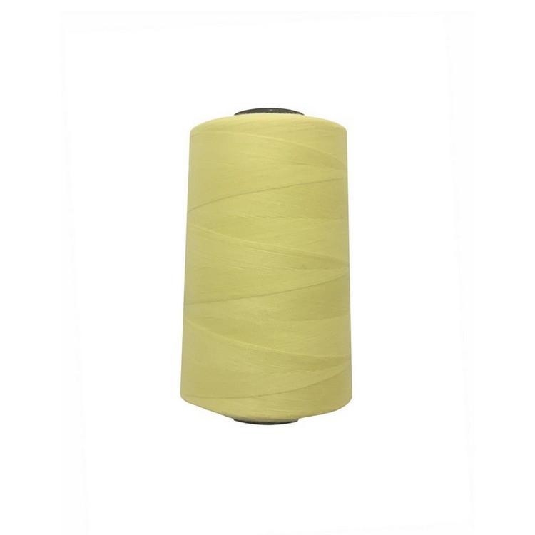 Нитки швейные 50/2 цв.S-802 желтый светлый  (боб 5000 ярдов) NITEX