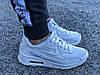 Кроссовки женские белые Nike Air Max 90 нат. кожа реплика, фото 4