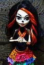 Кукла Monster High Скелита Калаверас (Skelita Calaveras) из серии Travel Scaris Монстр Хай, фото 6