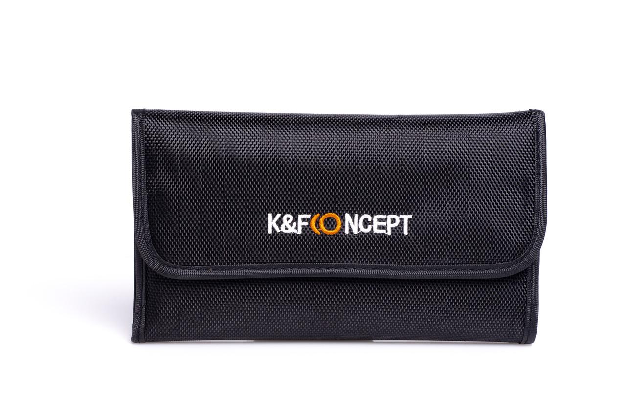 Чехол K&F Concept для светофильтра на 6 шт