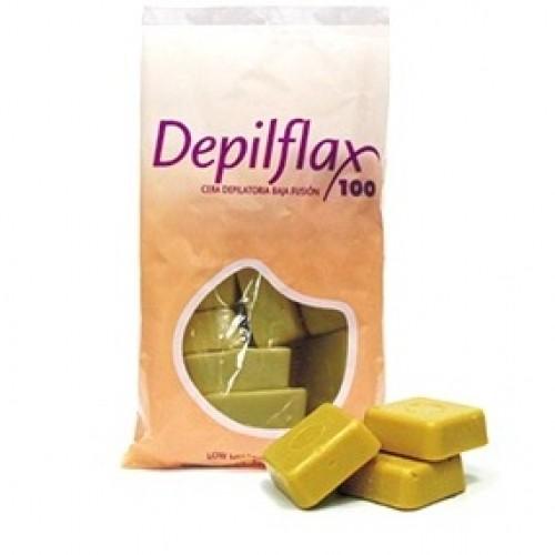 Горячий воск золото Depilflax 1кг