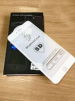 Защитные стекла 5D Full Glue iPhone 6 Plus, White