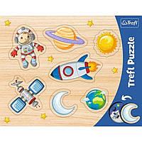 """Пазли розвиваючі Trefl """"Космос"""", рамкові, 31310"""