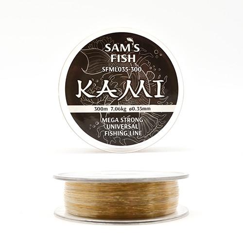 """Ліска """"Kami"""", 300м*0.35 мм, SFML035-300"""
