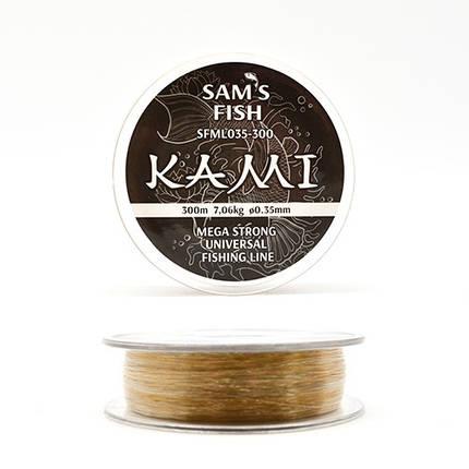 """Ліска """"Kami"""", 300м*0.35 мм, SFML035-300, фото 2"""