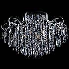 Хрустальная люстра СветМира на 4 лампочки со встроенной LED подсветкой рожков VL-2736/4+12, фото 3