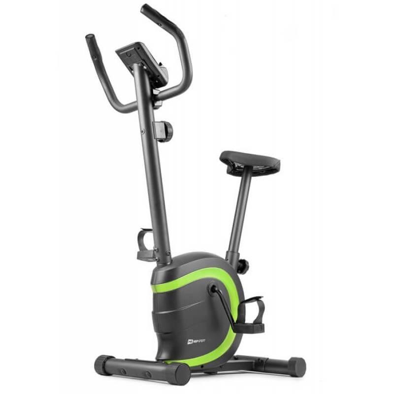 Велотренажер магнитный Hop-Sport HS-015H Vox зеленый для дома и спортзала