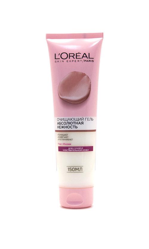 L'Oreal Skin Expert Гель Очищающий Абсолютная Нежность для сухой чувствительной кожи