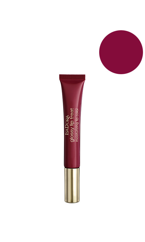 IsaDora Glossy lip treat Блиск для губ 82 red divine