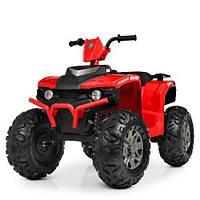 Детский электрический квадроцикл BAMBI M 4246 EL-3 красная